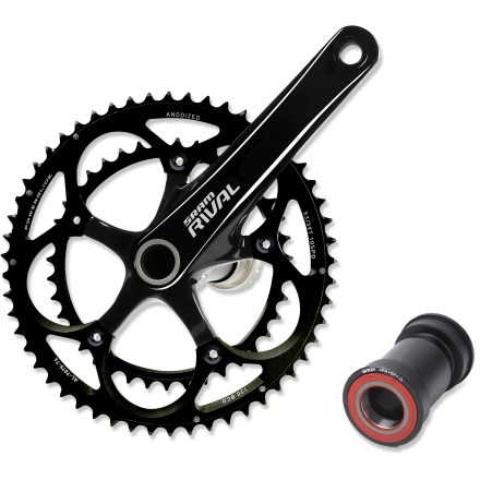 MTB Put the power to the road while saving weight with the Rival OCT 50/34 crankset from SRAM. - $191.00