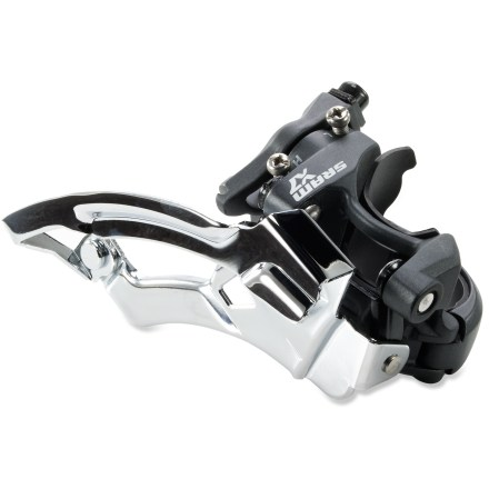 MTB The low-mount SRAM X7 front derailleur delivers precise, dependable front shifts for your 3x9 mountain bike drivetrain. - $37.00