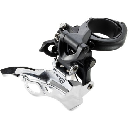 MTB This SRAM X7 front derailleur has a high-mounting clamp and supplies solid, dependable front shifts for your 3x9 drivetrain. - $12.93