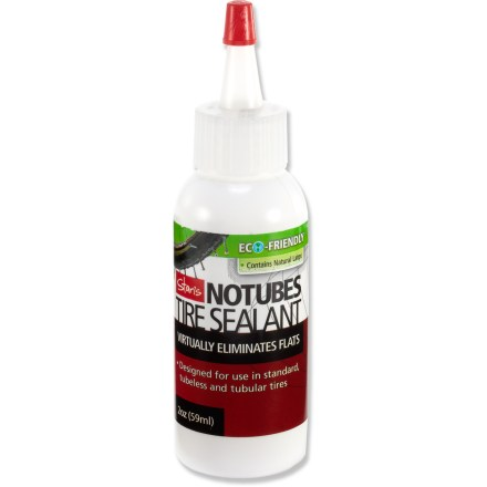 Fitness A must have for your repair kit and perfect for any tubeless tire installation, this 2 oz. bottle of Stan's Tire Sealant converts a standard wheel to a tubeless wheel and patches small punctures. - $5.00