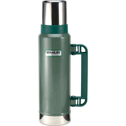 Camp and Hike Can't live without your coffee? Keep a fresh-brewed batch hot for up to 24 hrs. with the rugged Stanley Classic Ultra vacuum bottle. - $20.93