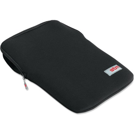 Entertainment The STM Glove MacBook(R) sleeve fits like a wetsuit, providing your MacBook with sleek protection from bumps, scratches and dust. Plush lining and 3mm neoprene with a durable YKK(R) zipper swaddles your MacBook. Fits 13 in. MacBook and MacBook Pro. - $30.00