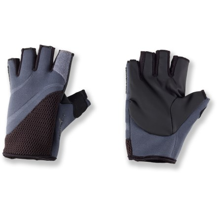 Kayak and Canoe The Stohlquist Contact paddling gloves decrease the chilly-finger factor on blustery paddling trips. - $11.83
