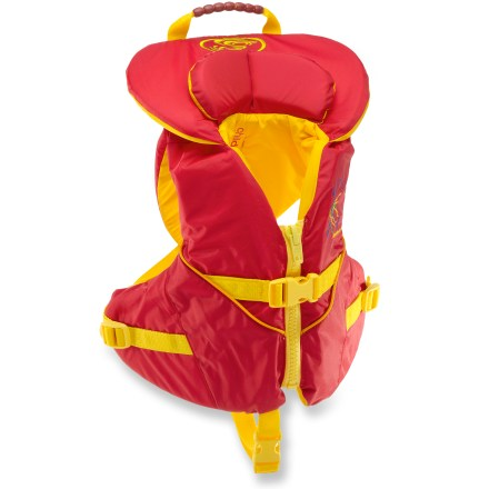 Kayak and Canoe With a wrap-around design and soft PVC-free foam, the Stohlquist PFD will enhance your child's safety and comfort this summer. - $59.95
