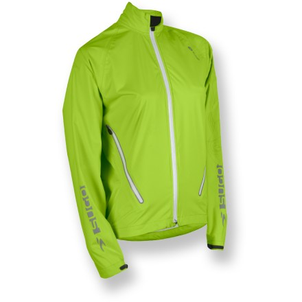 This Sugoi Majik Shell women's jacket offers tenacious weather protection for aerobic pursuits, in a lightweight, highly compressible package. - $59.73