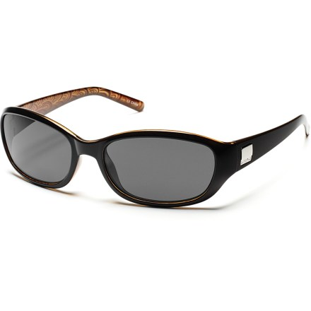 Entertainment The SunCloud Iris polarized sunglasses cut the glare and provide eye protection from the sun in a sophisticated package. - $49.95