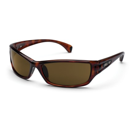 Entertainment Fish had better beware. With the polarized protection of the SunCloud Hook sunglasses you're eyes will be able to see past the surface glare and right into the water. - $49.95