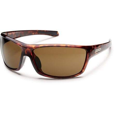Entertainment Stay in charge of your day in these SunCloud Conductor sunglasses, featuring polarized lenses for reduced glare and 100% UV protection. - $49.95