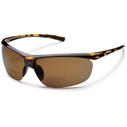 Entertainment These SunCloud Zephyr Reader polarized sunglasses are so lightweight, you might forget they're on your face. - $63.93