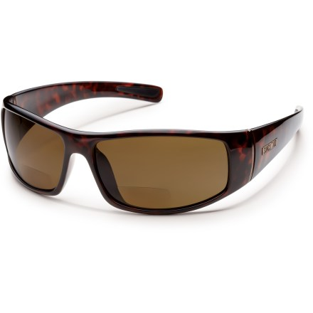 Entertainment Strong and lightweight, the SunCloud Atlas Reader polarized sunglasses are a great all-around pair of shades for on the water or on the town. - $63.93