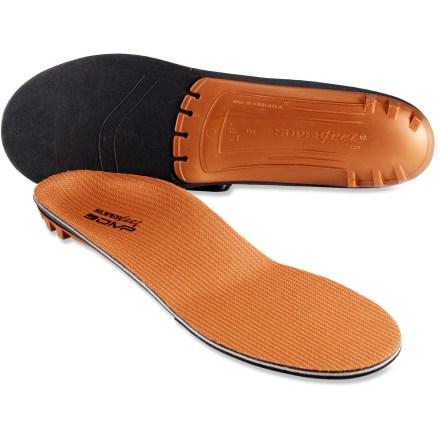 Superfeet Copper premium insoles use a passive molding process to shape the insoles to your feet, providing a custom, supportive platform underfoot. - $54.95
