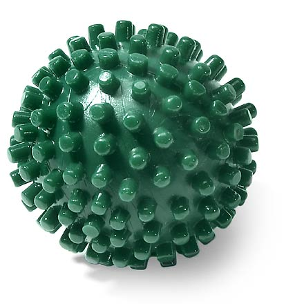 Fitness Based on ancient Asian Acupressure techniques, this little ball helps to relieve plantar fasciitis pain in feet and massages away trouble spots on hands - $5.50