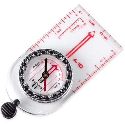 Camp and Hike This basic compass offers reliable navigation at an outstanding price! - $17.50