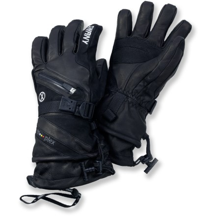 Ski The ultimate in cold-weather protection, these luxurious Swany gloves are built to handle the toughest ski runs year after year. - $140.00