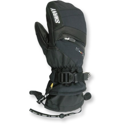 Ski The waterproof and breathable Swany X-Change mittens wrap your hands in warm insulation, keeping them warm and dry during extended romps in the snow. - $99.00