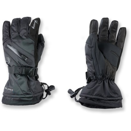 The women's Swany X-Therm gloves offer advanced fabric and design for dependable warmth and protection. - $20.83