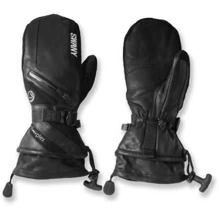 Keep your hands warm on all your winter adventures with the waterproof Swany X-Cell II mittens. - $140.00