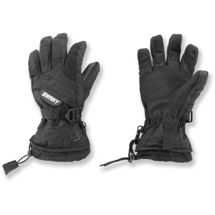The Swany X-Over II gloves offer kids a winning combination of warmth, dexterity and waterproof protection. - $23.93