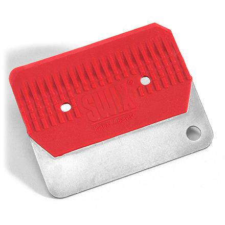 Ski This standard small scraper is made for removing excess wax from skis. - $3.93