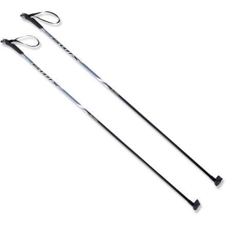 Ski For the cross-country skier heading out to classic, groomed trails, Swix offers the affordable Trail Touring poles. - $12.93