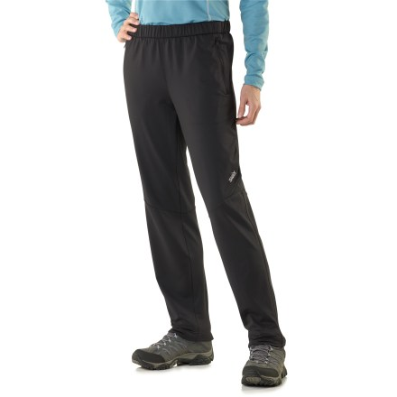 Ski Swix Oslo All Season women's pants offer moisture-wicking performance for hard aerobic workouts while also offering comfort and mobility for more casual winter outings. - $49.83