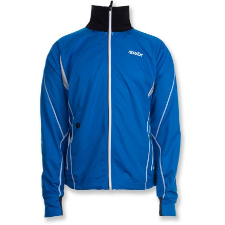 Ski The Swix men's Star X jacket offers a fine mix of mobility, breathability and weather-resistance for excellent performance during fast-paced activities in cooler weather. - $86.83