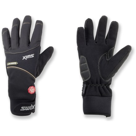 Ski Don't let the cold of winter keep you from having fun. Pull on the women's Swix Icon gloves and get out on the cross-country trails. - $34.83