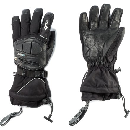 Ski Enjoy the ski slopes with warm hands thanks to the Swix Leather Dog gloves. - $74.83