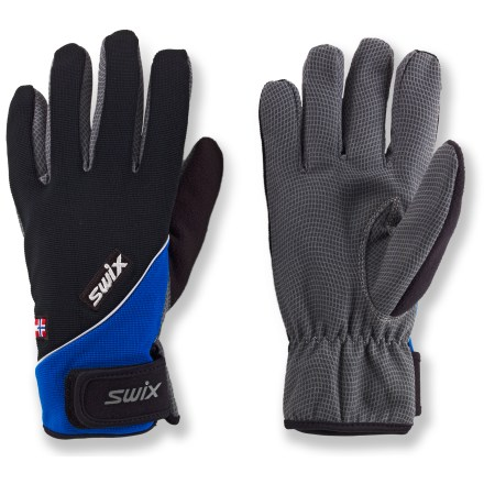Ski The Swix Universal gloves outfit hands for days exploring the backcountry. - $24.73