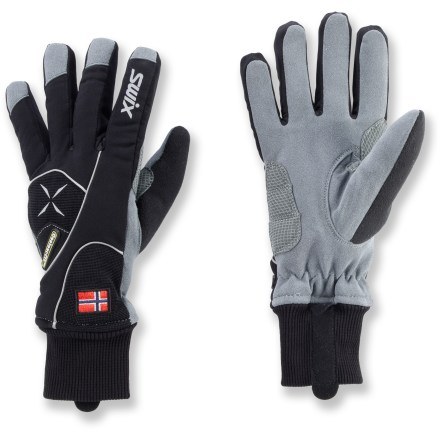 Ski The Swix Star XC-100 gloves for women offer great warmth and a sleek fit for comfort and performance on your cross-country skiing adventures. - $40.00