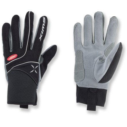 Fitness The Swix Stride gloves provide just the right amount of warmth for an active day of cross-country skiing - $19.83