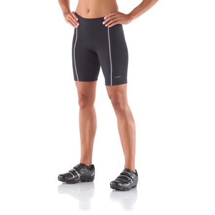 Fitness Bicycling, June '07 says of these Terry Bella cycling shorts, ''the nonelastic front waist should be standard for shorts: It gives a biblike feel without the hassle.'' - $49.83