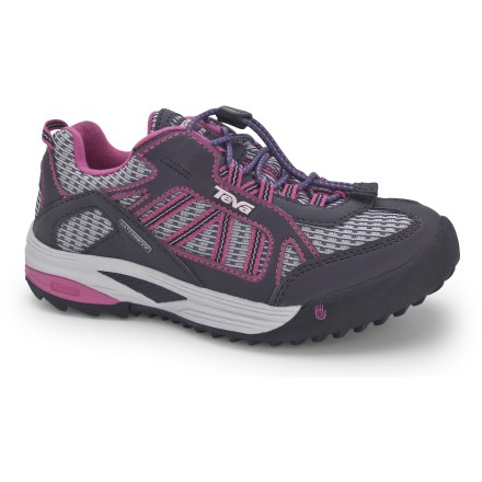 Camp and Hike With waterproof protection, the Teva Charge WP girls' shoes supply excellent all-around performance so that they can charge ahead and explore with abandon. - $15.83