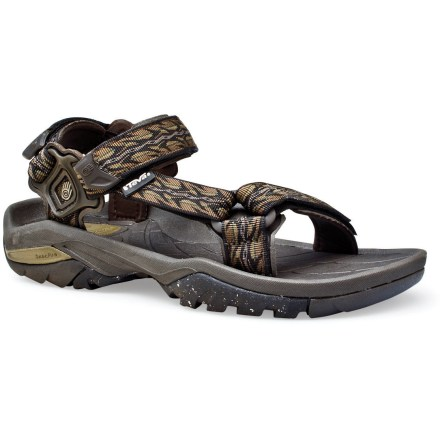 Entertainment The Teva Terra Fi 3 sandals provide excellent comfort, fit and support for activities in and out of water. - $46.73