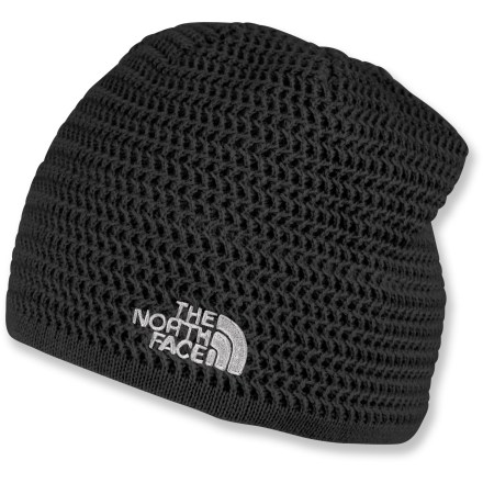 Ski Made with warm, quick-drying acrylic, this classic, slim-fitting beanie from The North Face is a perfect choice for skiing and riding. - $25.00