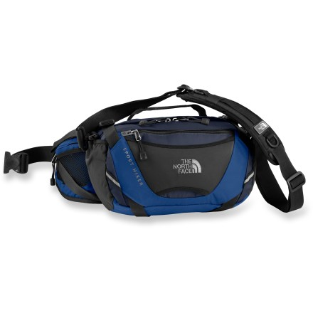 Camp and Hike Here's a lumbar pack for your day-hiking trail essentials-or convert it to an everyday shoulder bag for use around town. - $62.93