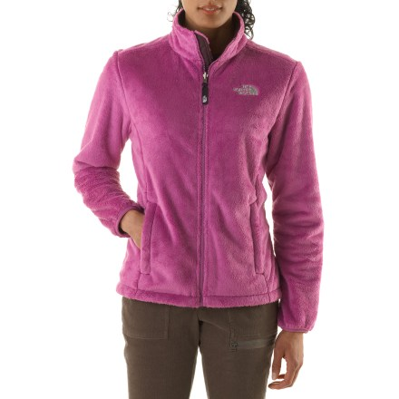 Camp and Hike Soft and silky, The North Face Osito fleece jacket wraps you in warmth and feels like a dream. - $68.93