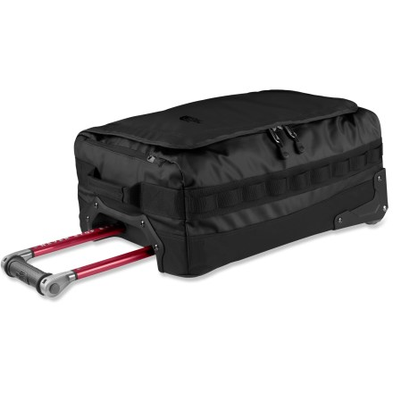 Entertainment Ideal for long weekend trips, the 20 in. Rolling Thunder duffel by The North Face is sized for carry-on use and boasts durable construction and multipurpose utility. - $198.93