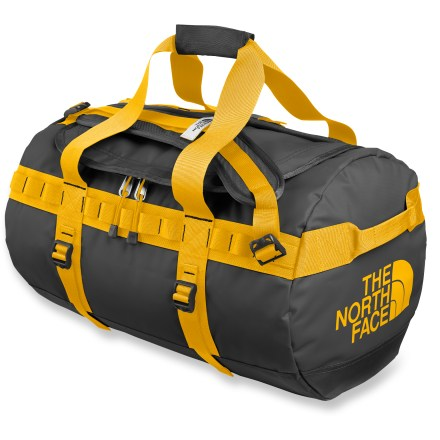 Camp and Hike Hauling adventure gear to the ends of the planet, the small Base Camp duffel from The North Face is just the right size to hold your essential equipment. - $83.93