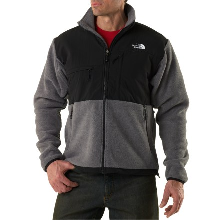 Camp and Hike The North Face Denali men's jacket is a straightforward, comfortable, all-around fleece for winter climates. Wear it as a mid layer or outer layer, depending on conditions. - $88.83