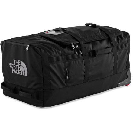 Entertainment Ideal for gear-intensive trips, the 31 in. Rolling Thunder duffel by The North Face offers durability, easy transporting and a generous packing compartment. - $238.93
