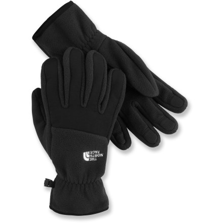 Camp and Hike Now with cozy polyester fleece insulation, the plush The North Face Denali gloves offer even more warmth for cold-weather adventures than before! - $6.83