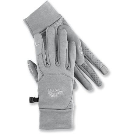 Fitness The North Face Etip gloves let you make calls, surf the web and listen to your favorite tunes all without taking off your gloves. - $21.83
