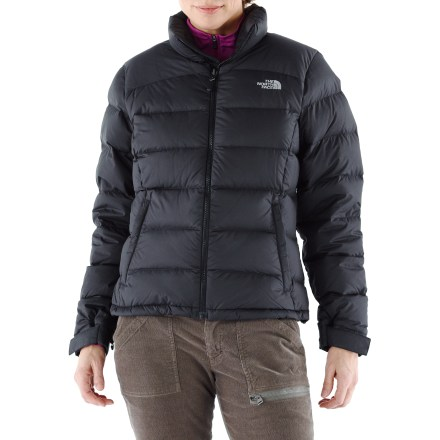 The North Face Nuptse 2 women's down jacket is still a warm classic, but it's been redesigned for 2011 with a more feminine and flattering fit. - $153.93
