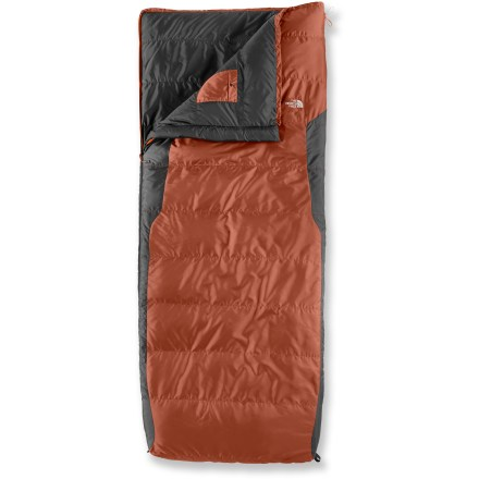 Camp and Hike For those adventures when a mummy bag isn't necessary, this lightweight synthetic bag compresses small and offers great warmth-to-weight ratio so you can rest easy. - $64.93