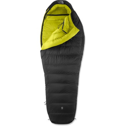 Camp and Hike The Inferno 0F down bag from The North Face offers protection and comfort on expeditions in extreme conditions where minimal weight and maximum warmth are critical. - $509.00