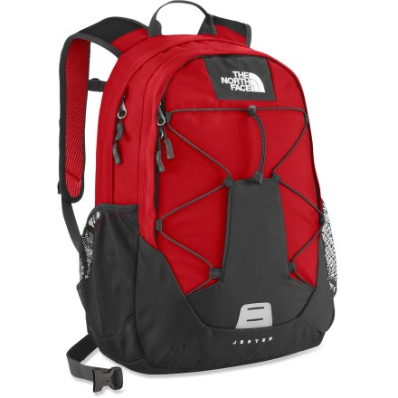 Camp and Hike The North Face Jester daypack totes books, binders and school supplies or essential gear for an outdoor day on the trail. - $43.83