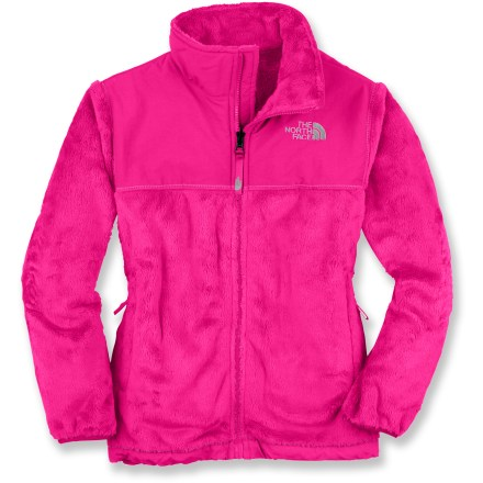 The North Face Denali thermal fleece jacket offers girls a stylish, plush and adorable haven from cool temperatures. Silky, high-loft polyester fleece is durable, soft and breathable for amazing comfort. Nylon overlays at the shoulders, chest and elbows add abrasion resistance. The North Face Denali thermal jacket features zippered handwarmer pockets and elastic hem and cuffs to seal in warmth. Features zip-in/snap-in integration with other The North Face jackets for a complete layering system; other jackets sold separately. - $68.93