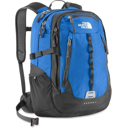 Entertainment Power through the day with the Surge II daypack from The North Face, which boasts plenty of pockets for easy organization and dedicated sleeves for both a laptop and tablet. - $86.93