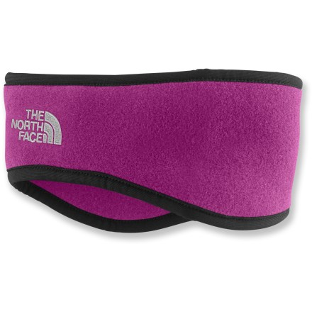 The North Face Ear Gear headband gives you warmth where you need it without undue bulkiness. Polartec(R) recycled-polyester fleece is soft and warm. Includes an embroidered The North Face logo. - $14.93